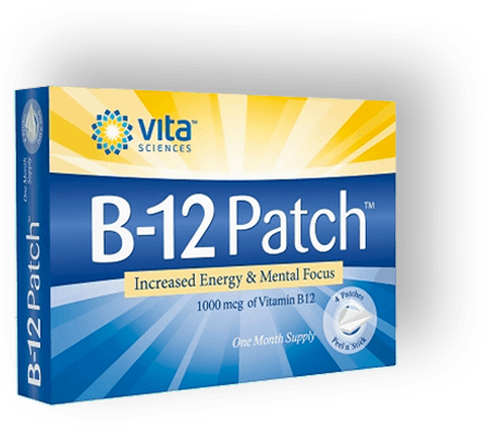 B12 Patch Image of a Bottle Big