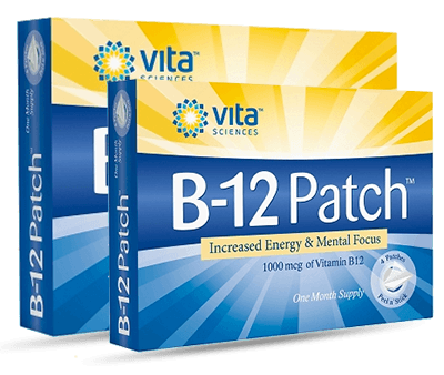 B12 Patch and B12 Methyl Patch side by side
