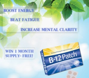 B12 Patch Giveaway